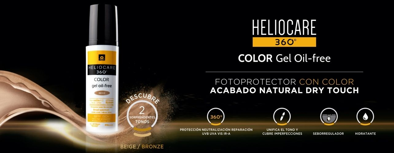 Heliocare 360º Gel Oil-Free Color